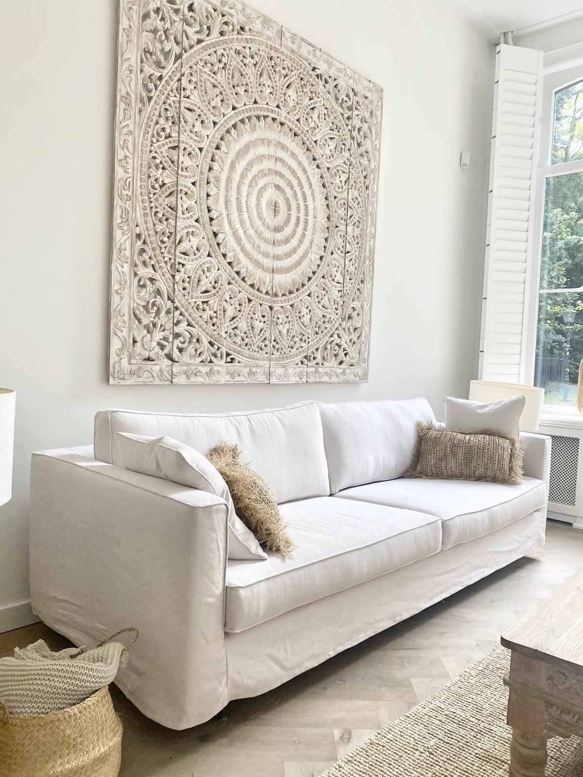 Simply Pure Handgefertigte Simply Pure signature Sofa PURE in 360 Farben ( mit abnehmbarem waschbaren Bezug)