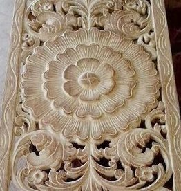 Hand carved wall panel LOTO LUNGO