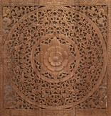 Hand carved wall panel Design LOTO natural, different sizes available