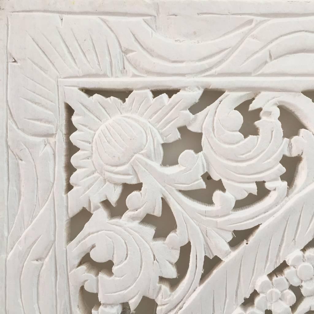 simply pure Geschnitzte Wandpanele Design LOTO Farbe: Weiss verschiedene Abmessungen