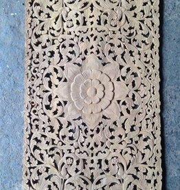 simply pure Geschnitzte Wanddekoration Design LOTO RETTANGOLO, verschiedene Abmessungen und Farben