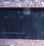 Houtsnijwerk spiegel lijst, verschillende afmetingen en kleuren