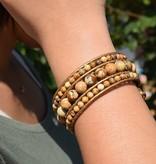 Bracelet ELEGANZA with Jasper stone