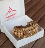 simply pure Bracelet ELEGANZA with Jasper stone