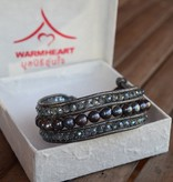 simply pure Armband ELEGANZA mit blauer Naturperle | Simply Pure