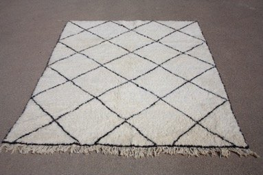 simply pure Beni Ourain rugs ( several sizes and designs)