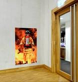 Ophangsysteem Fireman Brandblusser