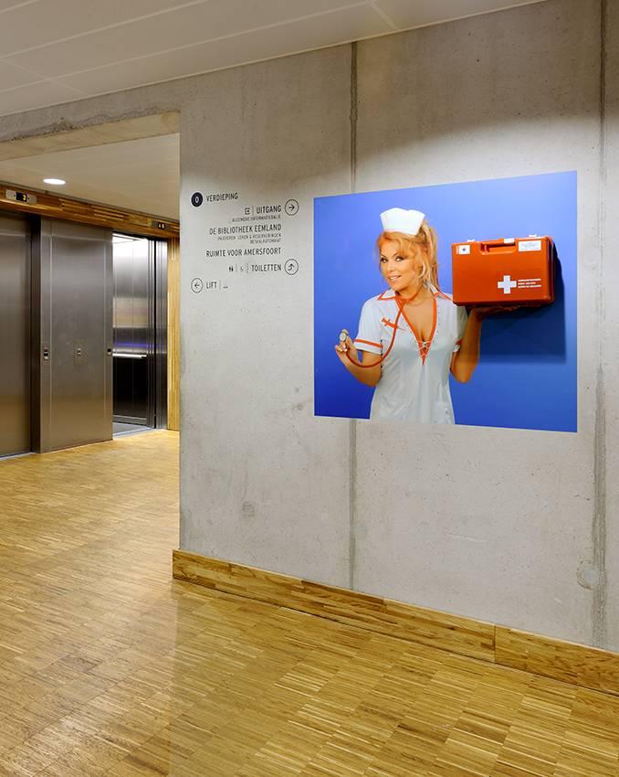 Ophangsysteem Nurse Verbandkoffer