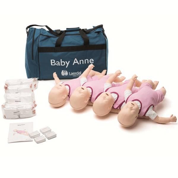 Laerdal Laerdal Baby Anne Blank 4 Stuks