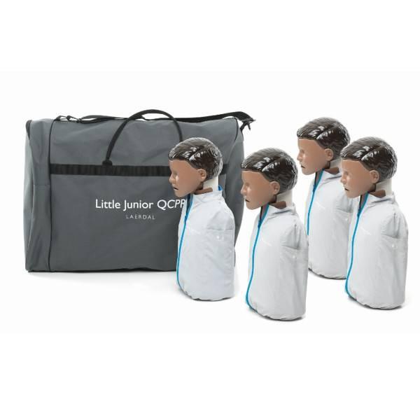 Laerdal Laerdal Little Junior QCPR  Donker 4 stuks