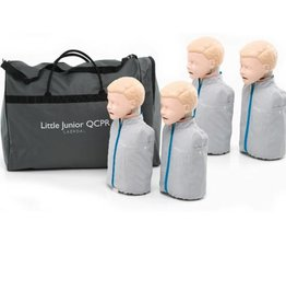 Laerdal Laerdal Little Junior QCPR  Blank 4 stuks