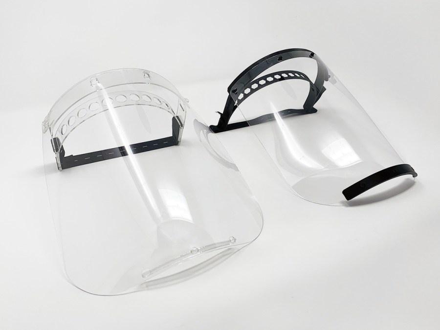 Gezichtsscherm | Spatscherm | Gelaatsscherm | Faceschield | Gelaatsmasker
