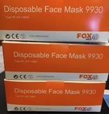 IIR maskers (medische mondmaskers) - 50 stuks