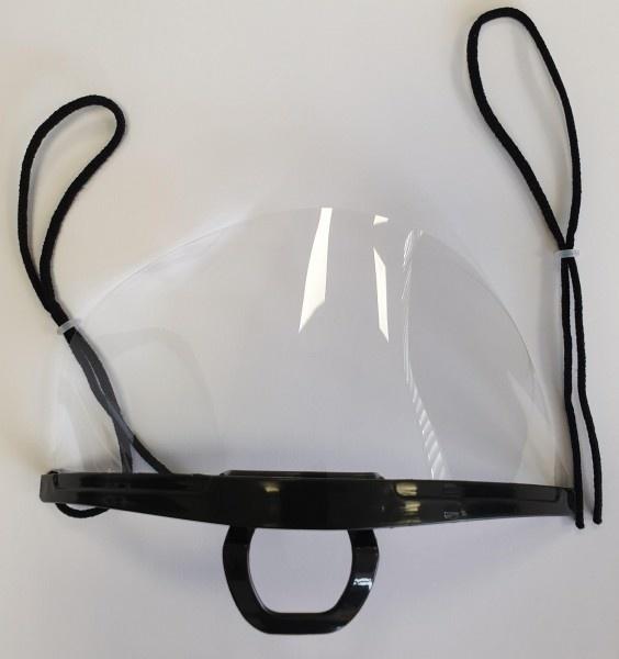 Transparant mondmasker - herbruikbaar