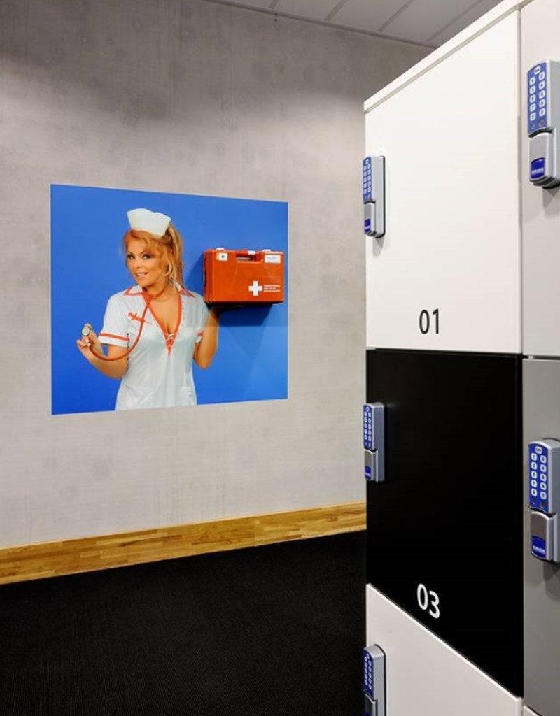 Ophangsysteem Nurse AED