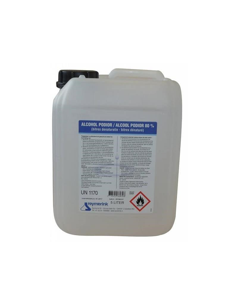 Ontsmettingsalcohol 80% in 5 liter jerrycan