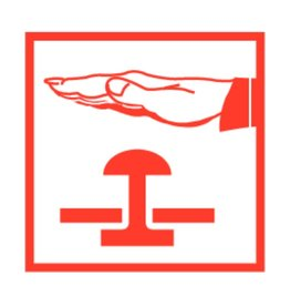 Pictogram Noodstop