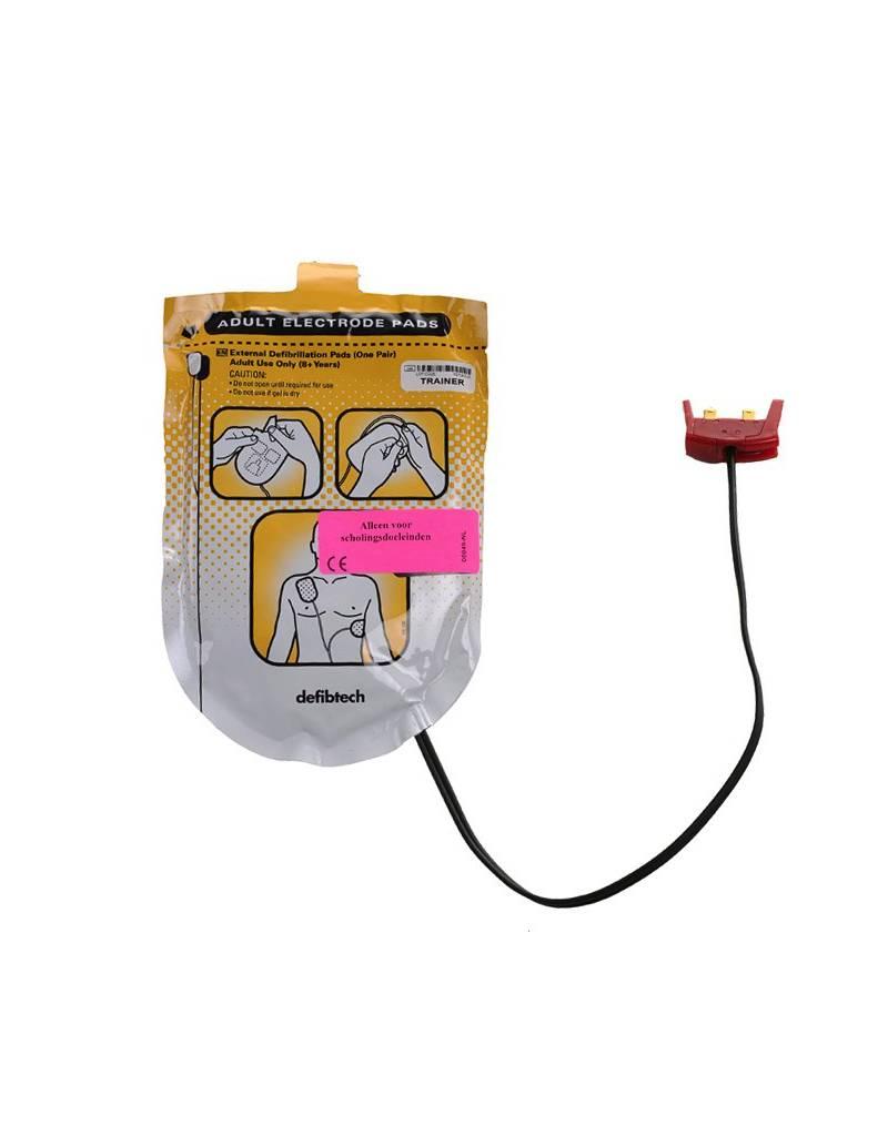 Defibtech Defibtech Trainingselektroden (1set - met stekker )