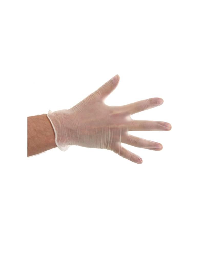 Vinyl Handschoenen Poedervrij Wit (100 stuks)
