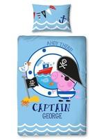 Peppa Pig Peppa Pig Captain George Ahoy Dekbedovertrek