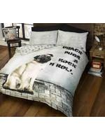 Doghouse Designs Pugsy Hond Dekbedovertrek 200x200