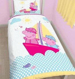 Peppa Pig Peppa Pig Nautical Dekbedovertrek