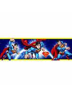 DC Comics Superman Zelfklevende Behangrand