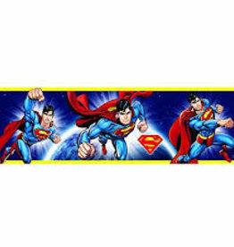 Superman Zelfklevende Behangrand