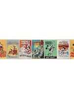 Disney Mickey Mouse Zelfklevende Behangrand Vintage