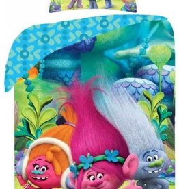 Dreamworks Trolls Blue Duvet Cover  Poppy