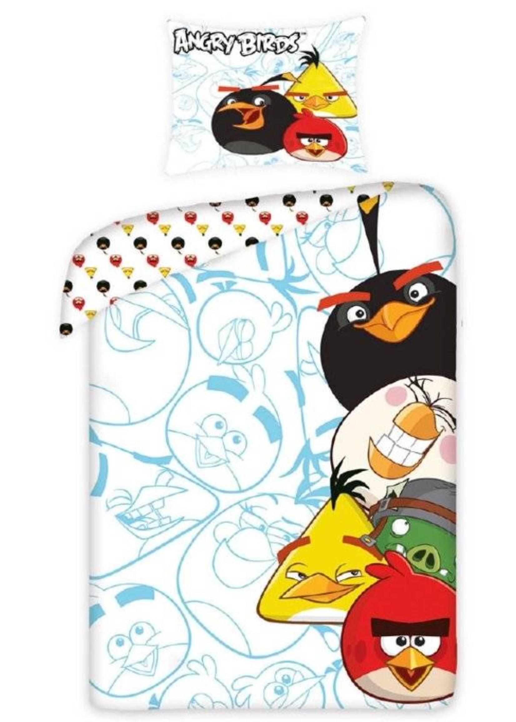 Angry Birds Angry Birds Dekbedovertrek Wit