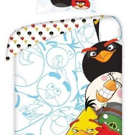 Angry Birds Dekbedovertrek Wit