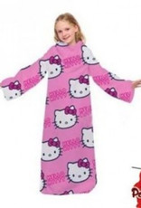 Sanrio  Hello Kitty Fleece Deken met Mouwen