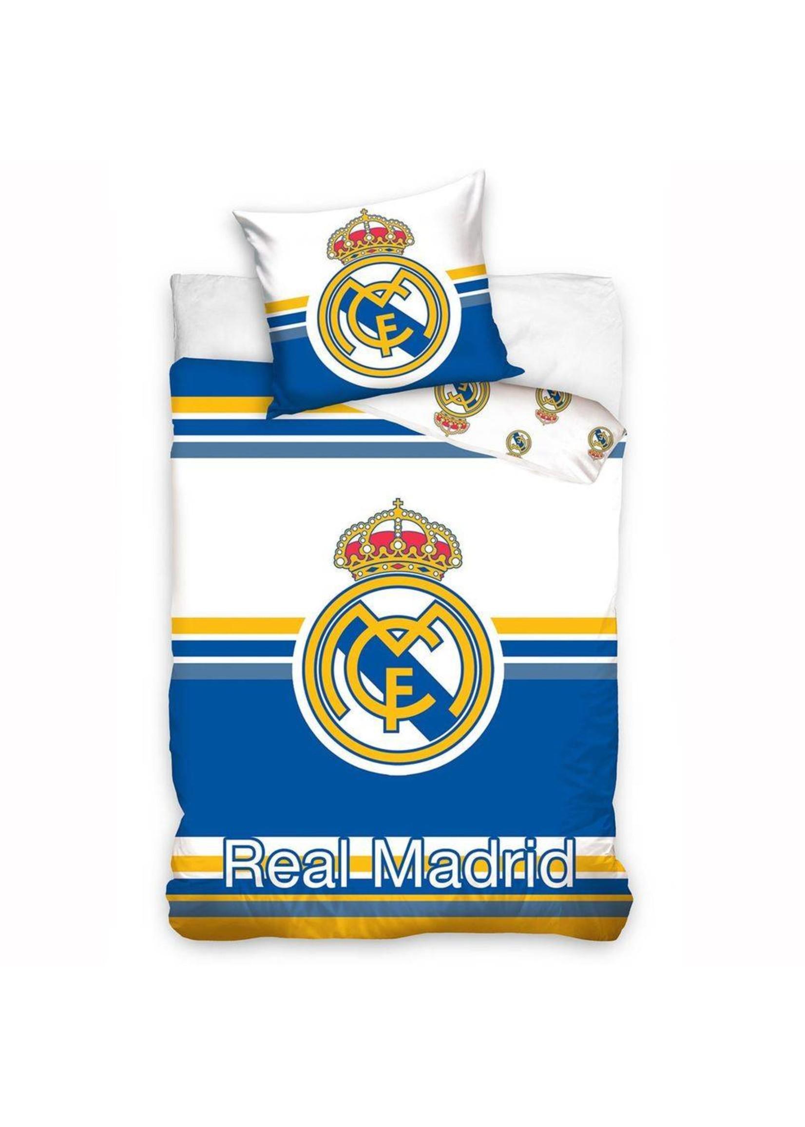 Real Madrid Real Madrid Dekbedovertrek Strepen