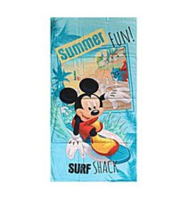 Disney Mickey Handdoek Surf Summer