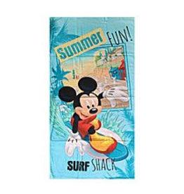 Mickey Handdoek Surf Summer