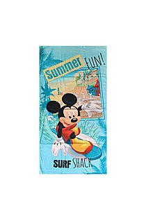 Disney Mickey Handdoek Surf Summer
