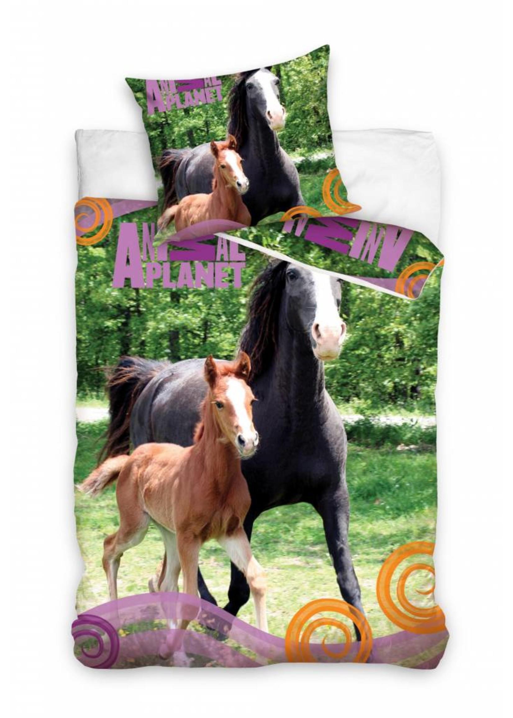 Animal Planet Paard Dekbedovertrek