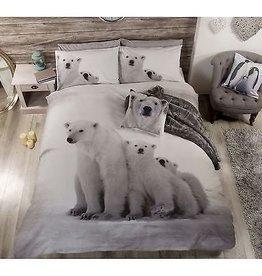 Ijsbeer Polar Beer Tweepersoons Dekbedovertrek