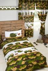 Camouflage Legerkamp Dekbedovertrek Junior