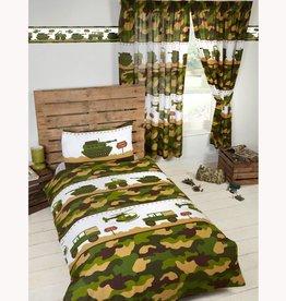 Blije Kidz Camouflage Legerkamp Dekbedovertrek Junior