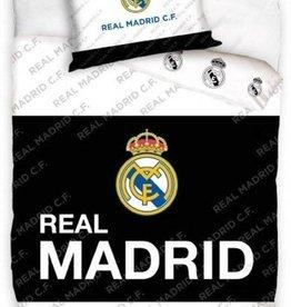 Real Madrid  Dekbedovertrek Zwart Wit