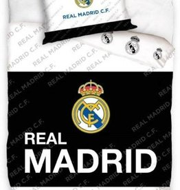 Real Madrid Real Madrid  Dekbedovertrek Zwart Wit