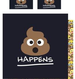 Emoji Emoji Double Duvet Cover Poo