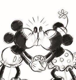 Minnie Mickey 002 Handdoek