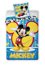 Disney Mickey Mouse Dekbedovertrek Bars