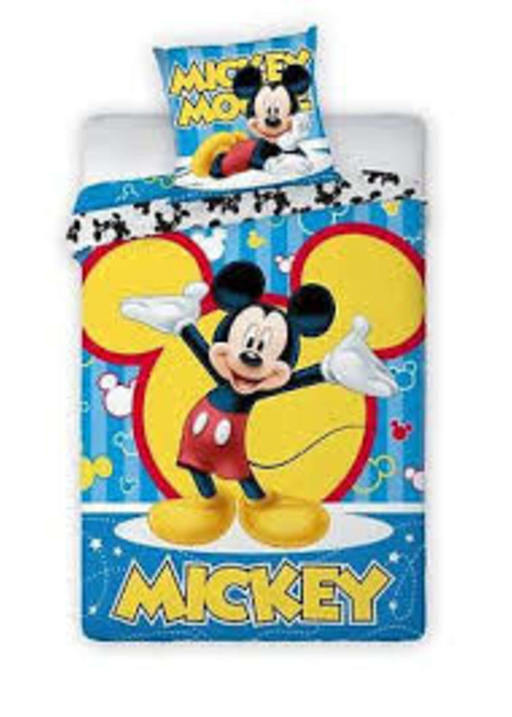 Disney Mickey Mouse Dekbedovertrek Bars
