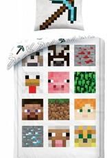 Minecraft Minecraft Bedding White