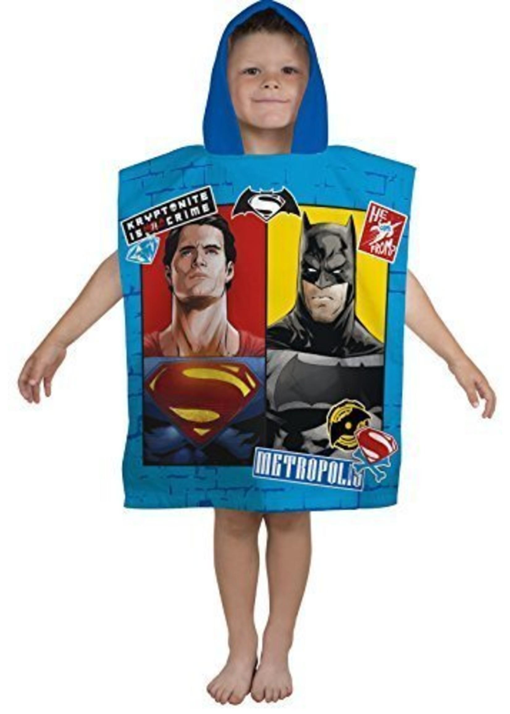 DC Comics Poncho Batman vs Superman