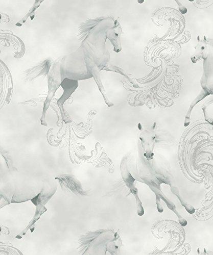 Arthouse Camarillo Paard Glitter Behang